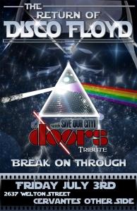 Disco Floyd_Doors July 2015